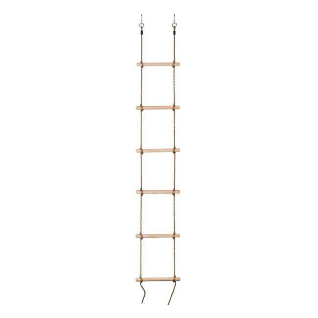 6 Steps Gymnastic Climbing Rope Ladder - 4.5 x 6.5 x 4.5 in.