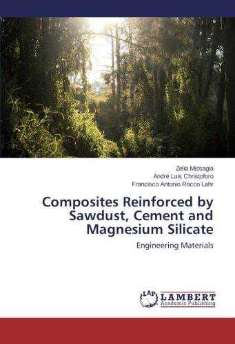 Composites Reinforced by Sawdust, Cement and Magnesium Silicate