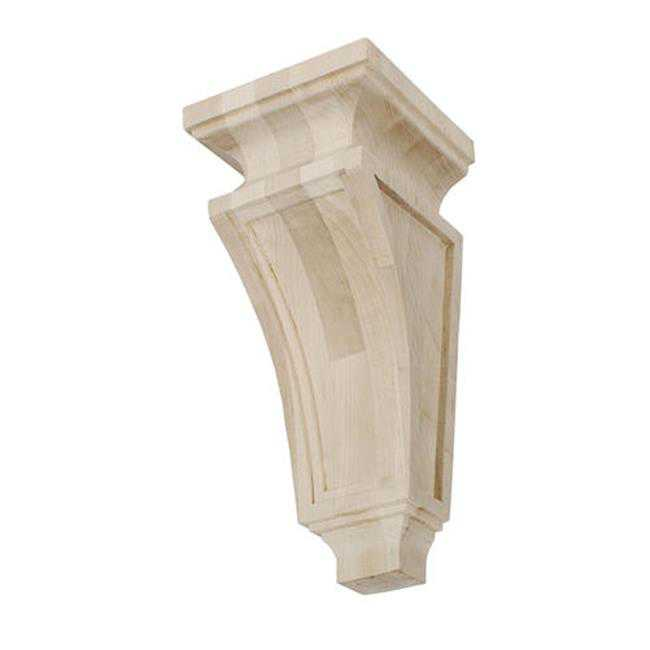 American Pro Decor 5APD10452 Small Mission Wood Corbel