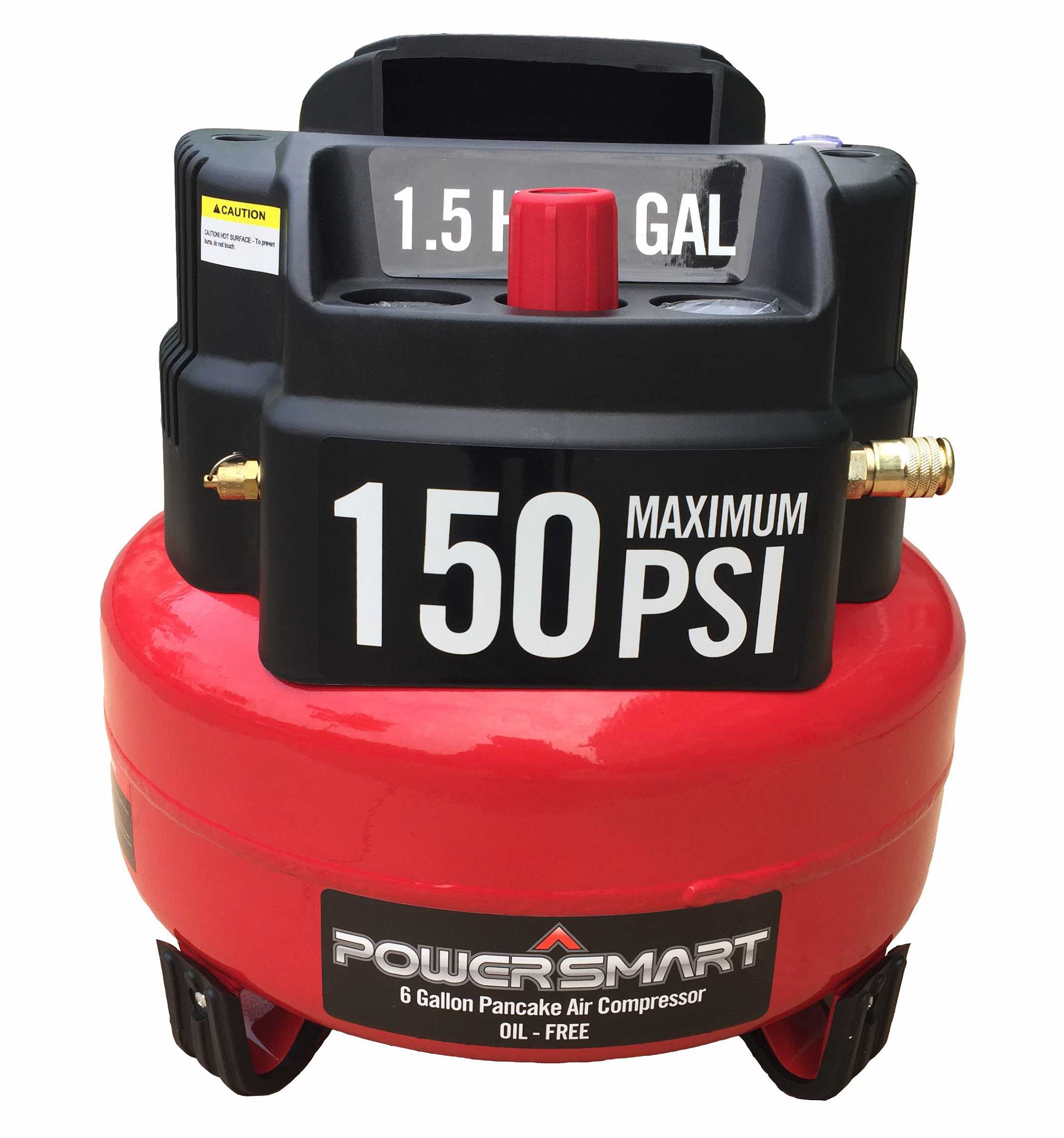 PS65 6 Gallon Oil Free Electric Air Compressor