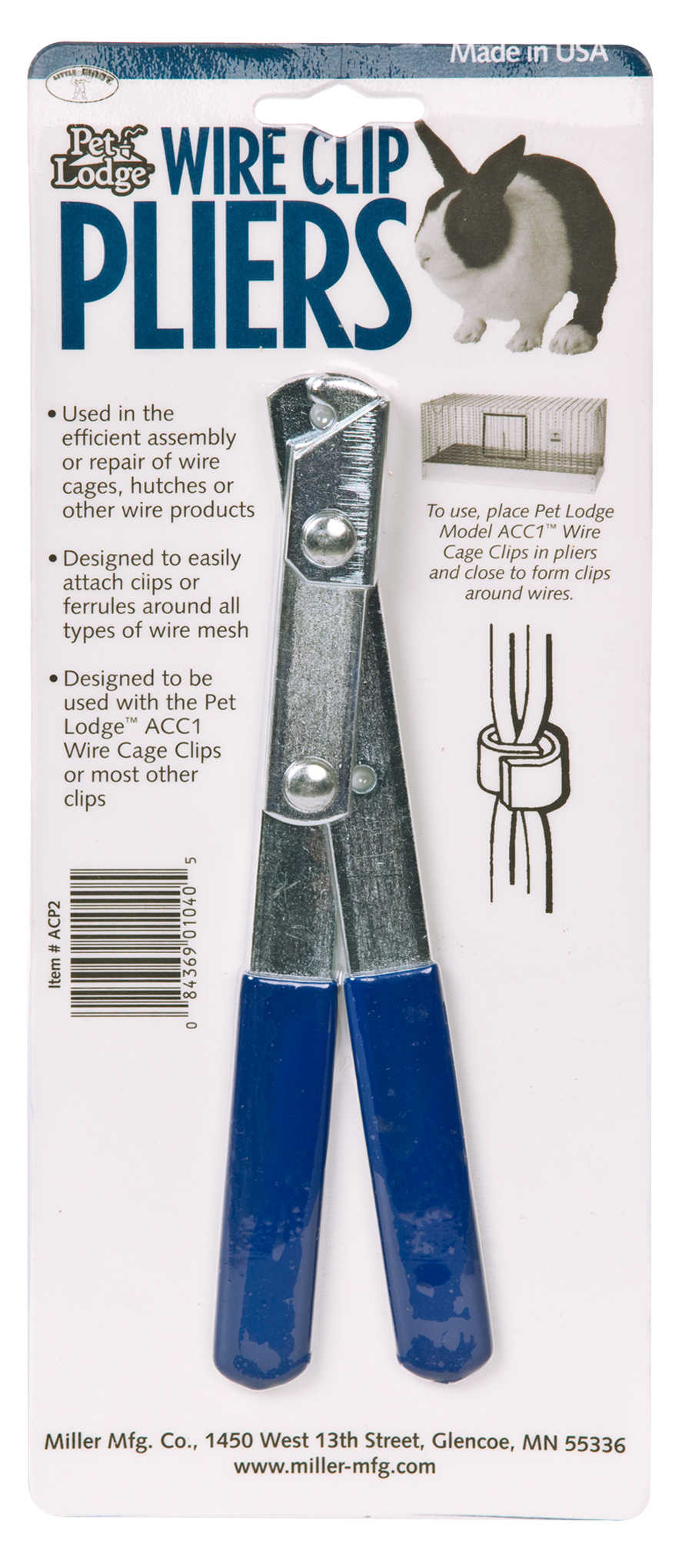 Miller Manufacturing Wire Clip Pliers