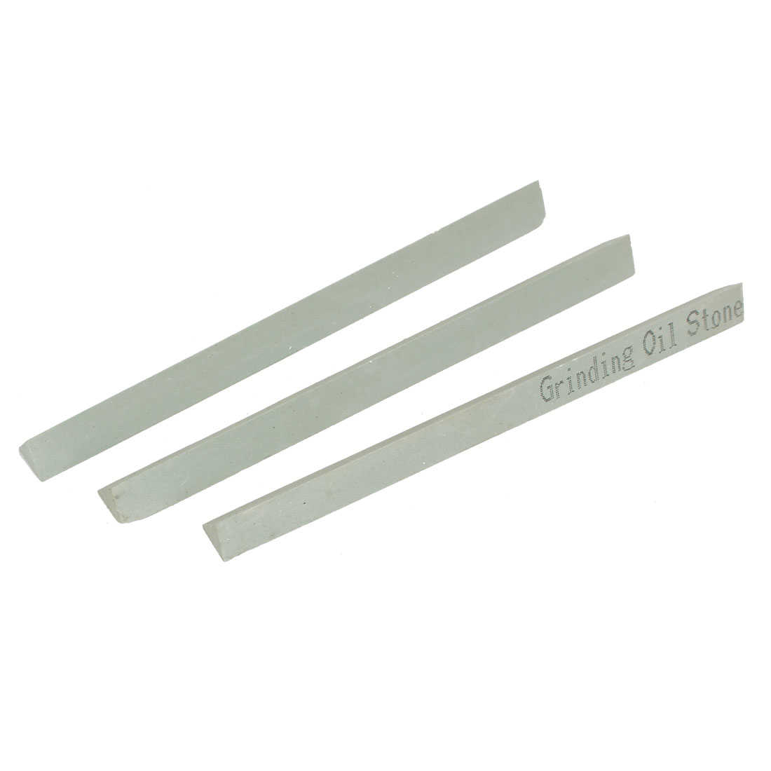 150mm x 13mm x 11mm 600 Grit Oil Stone Sticks Sharpener Green 3 Pcs