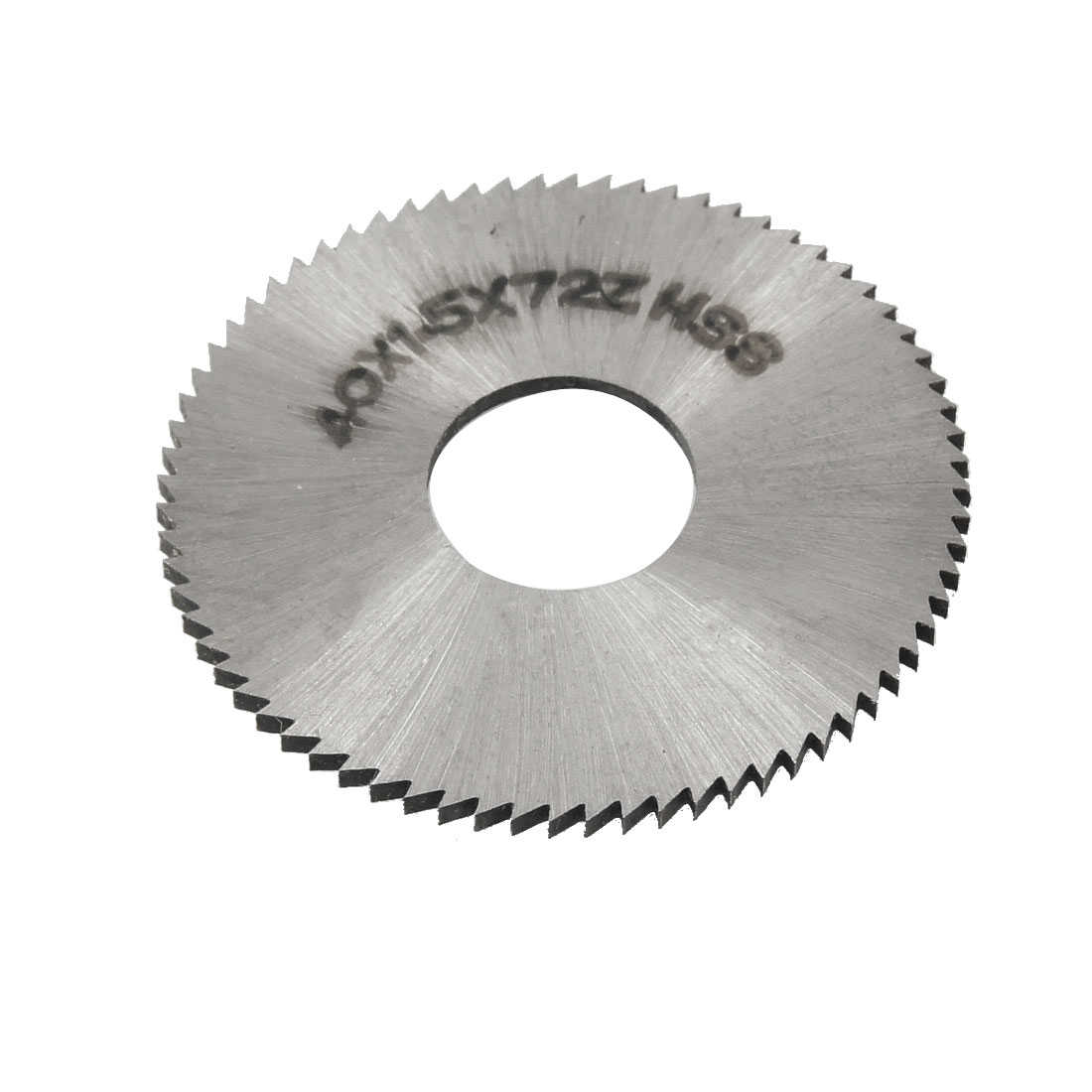 Unique Bargains 72T 40mm OD 1.5mm Thickness HSS Circular Slitting Saw