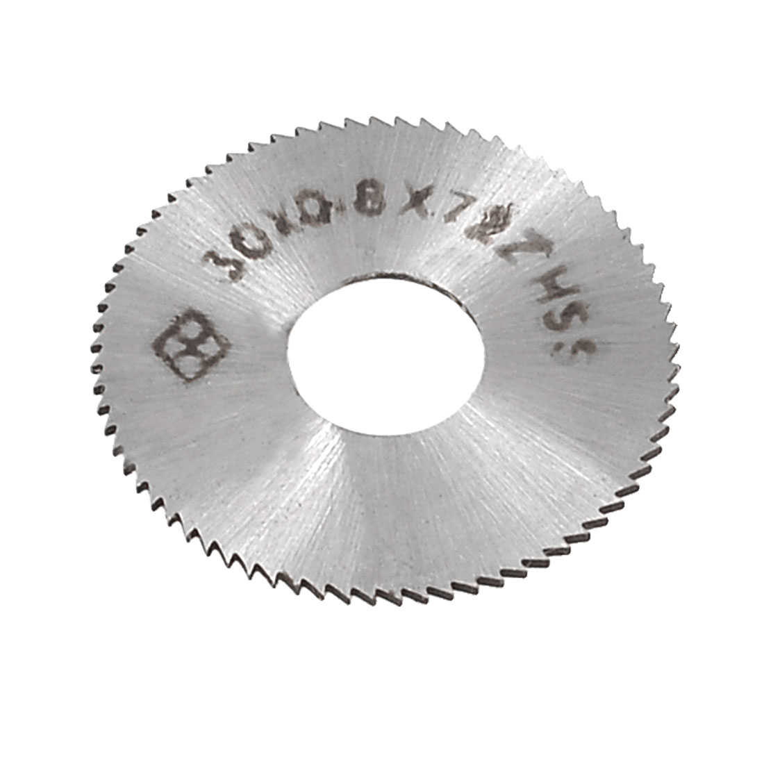 Unique Bargains 30mm x 0.8mm x 10mm 72T HSS Circle Slitting Saw Cutter