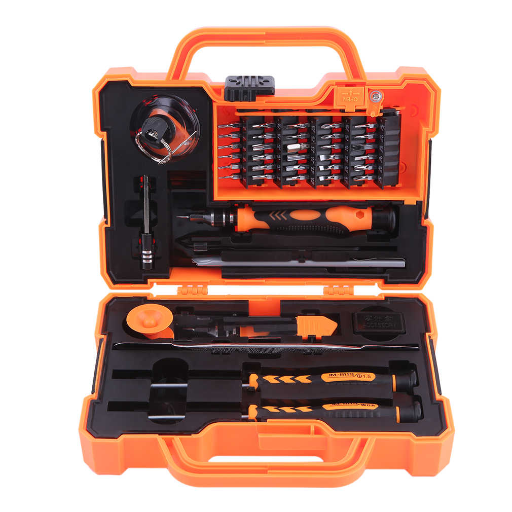 JM-8139 45 In 1 High Quality Steel Screwdriver Repair Opening Tools Kit