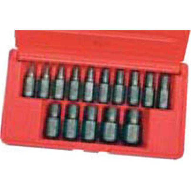 Hanson Irwin 15 Pieces Multi Spline Screw Extractor Set (1/8-9/16)