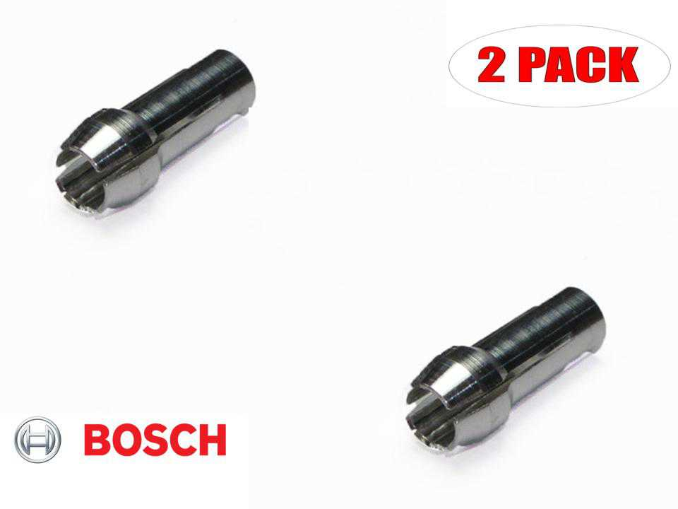 Bosch 6800 Dremel Trio Replacement Collet # 2610007764 (2 PACK)