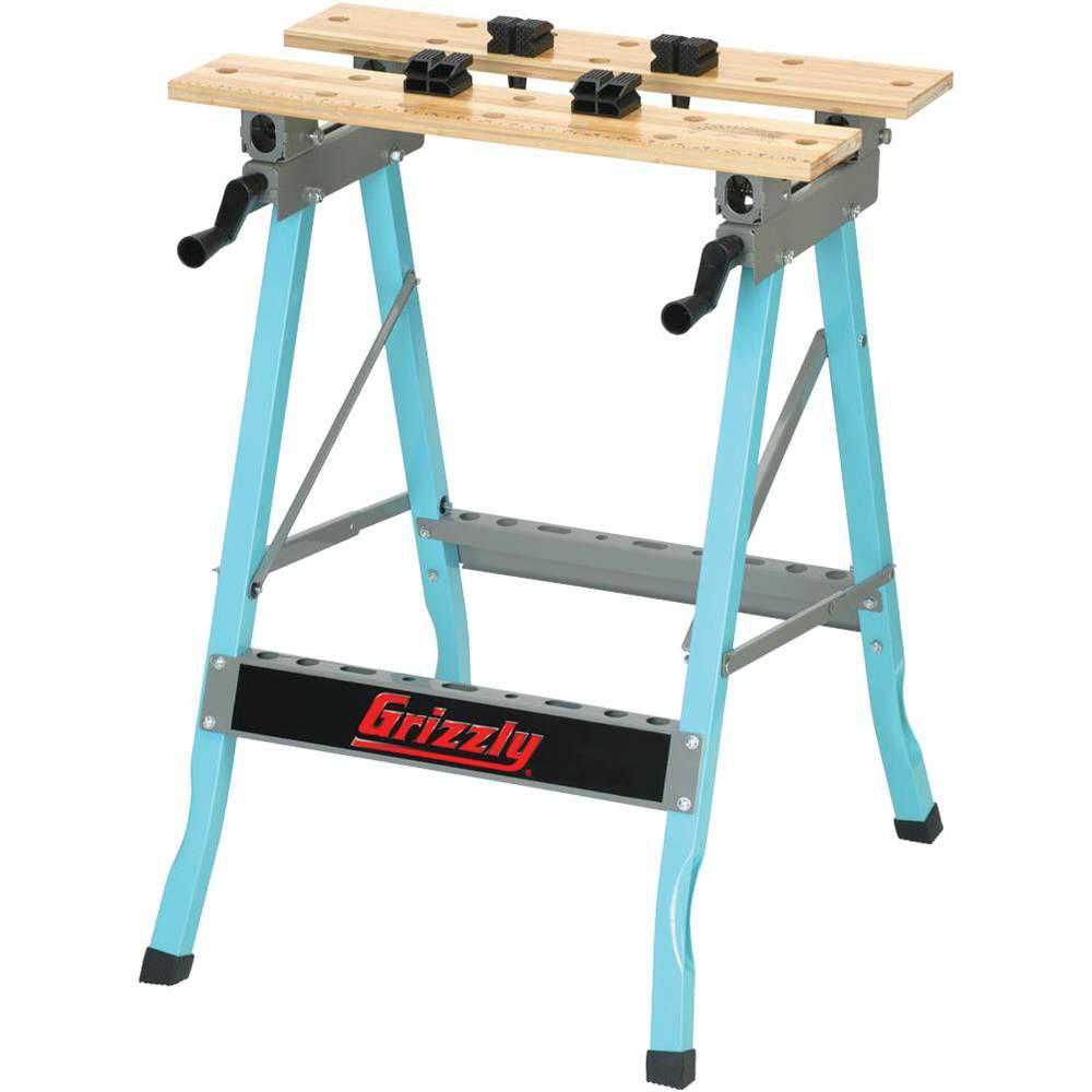 Grizzly G8586 Portable Clamping Workbench