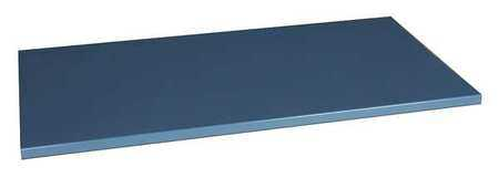 4TW34 Workbench Top, Steel, 60x30 in., Straight