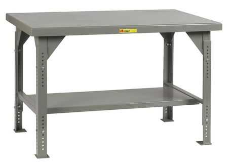 LITTLE GIANT WW-3660-ADJ Workbench,Steel,60' W,36' D G1863900