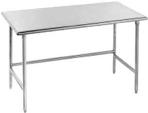 Advance Tabco Work Table 60' x 30' Wide - TGLG-305