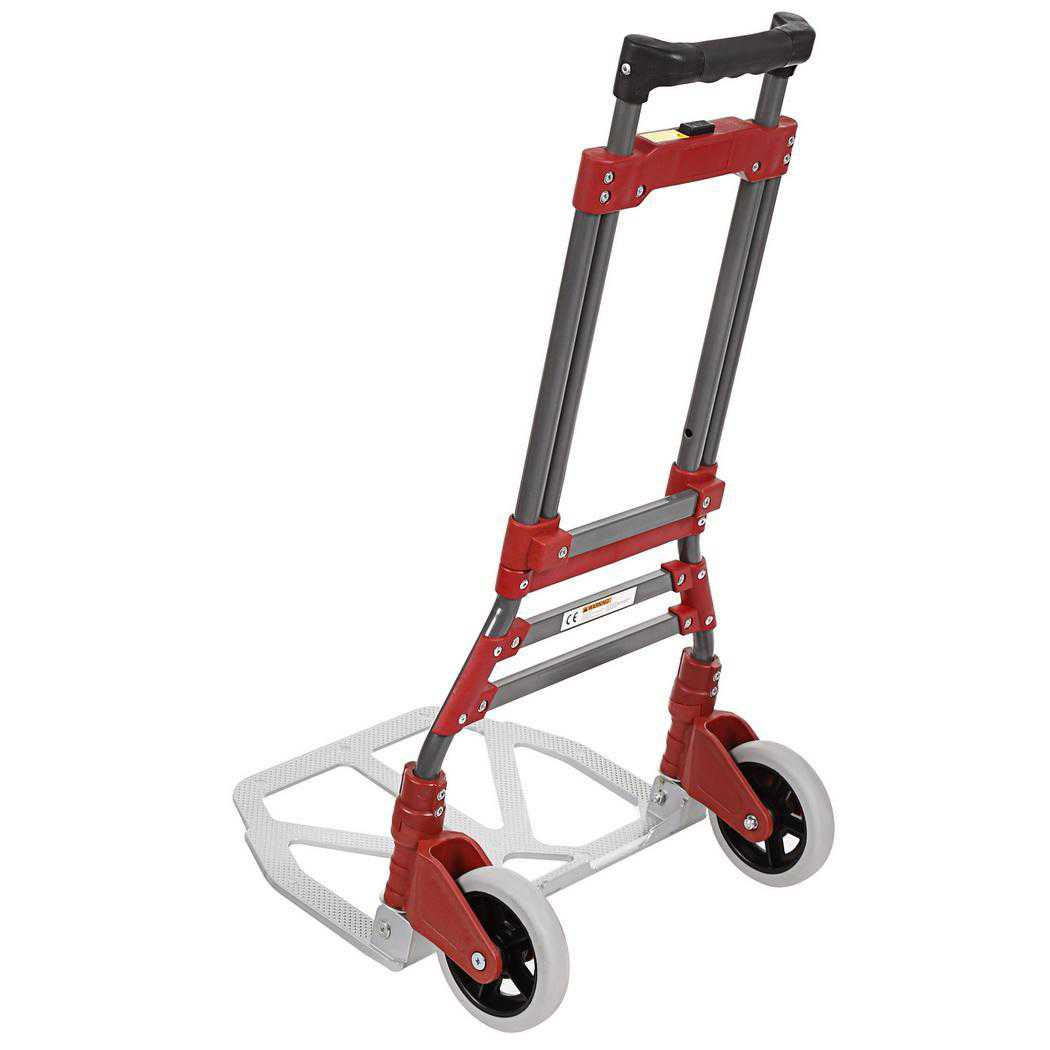 165 lbs Capacity Aluminum Folding Dolly Hand Truck SPHP