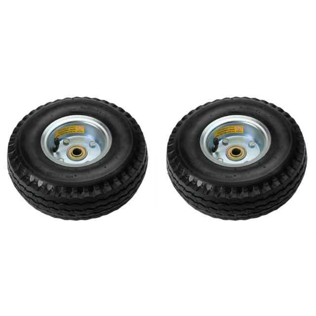 10' Pneumatic Wheel for Hand Truck - 2 Pack