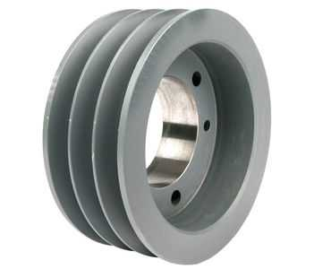 3.75' OD Three Groove 'A/B' Pulley / Sheave (bushing not included) # 3B34-SH