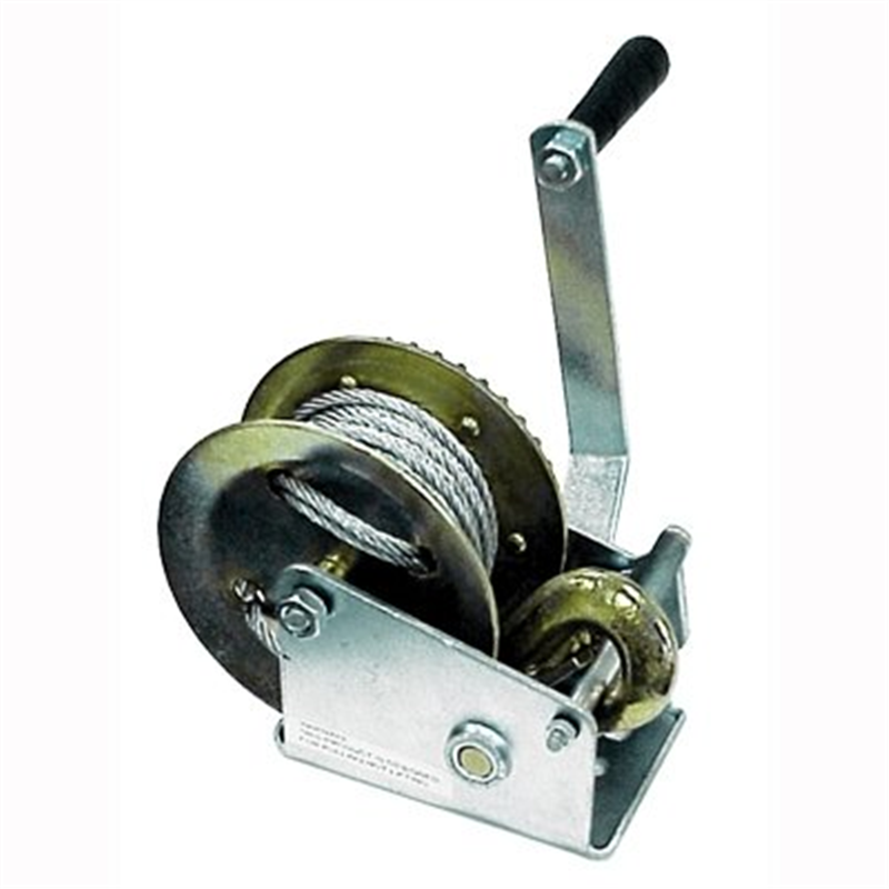 2000 Pound Hand Cable Winch For Boat/Trailer New