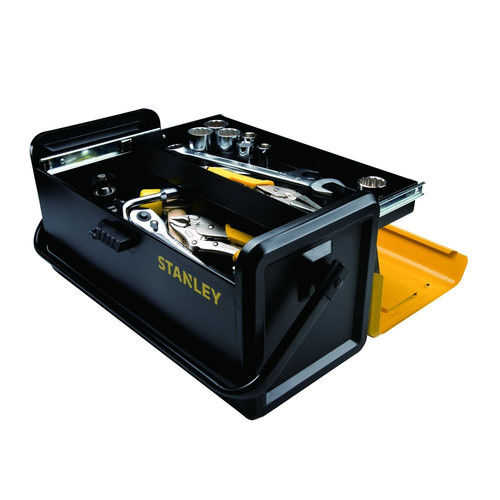 Stanley STST19501 19 in. Metal Tool Box with Auto-Slide Drawer